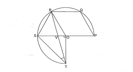 Question Image of Name a trapezium in the figure below.   .